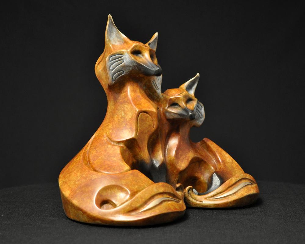 bronze-fox-couple-sculpture-john-maisano-5.jpg