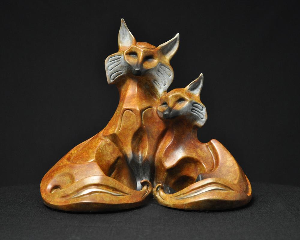 bronze-fox-couple-sculpture-john-maisano-6.jpg