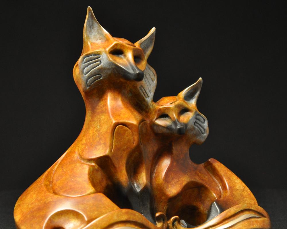 bronze-fox-couple-sculpture-john-maisano-7.jpg