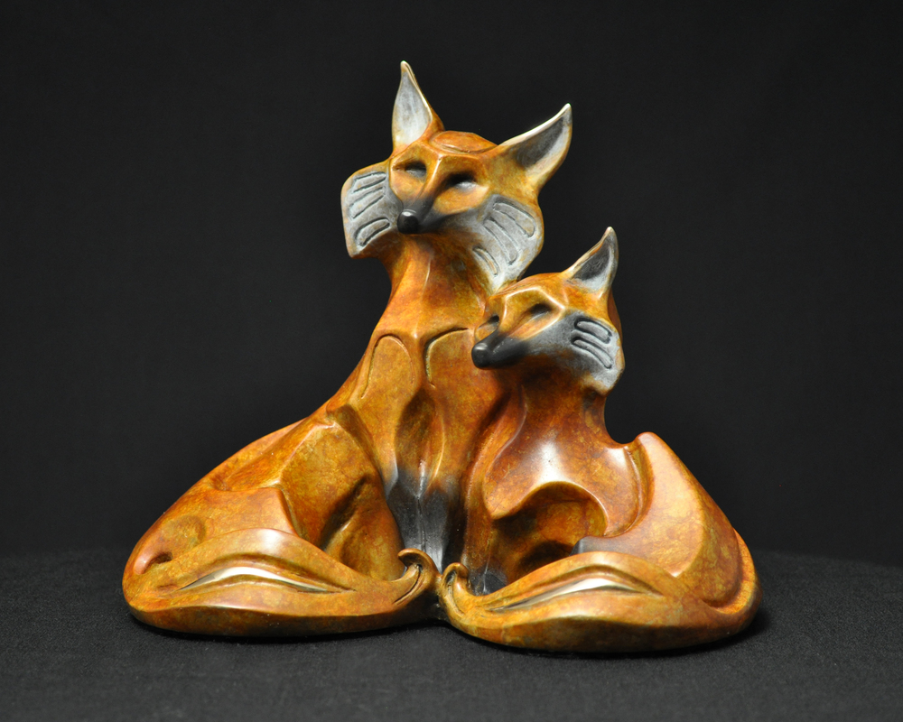 bronze-fox-couple-sculpture-john-maisano-1.jpgs