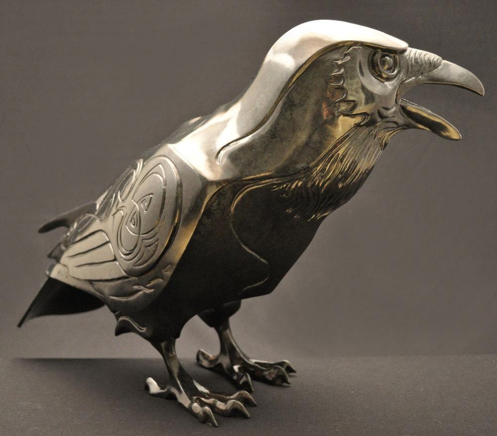 Raven-Sculpture-Bronze-John-Maisano---5.jpg