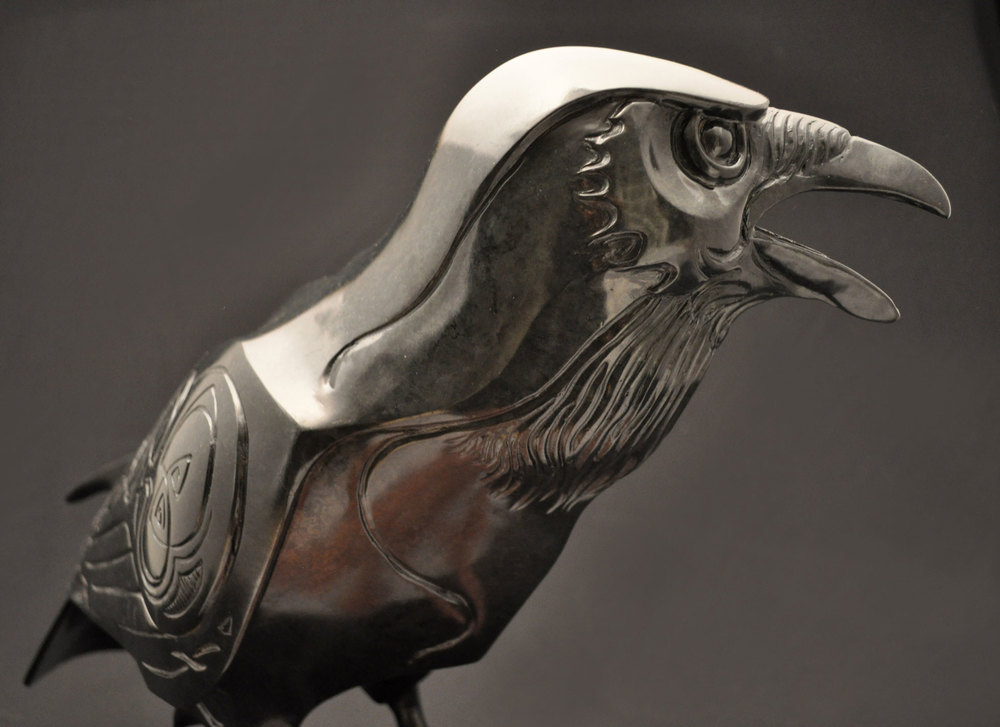 Raven-Sculpture-Bronze-John-Maisano---6.jpg