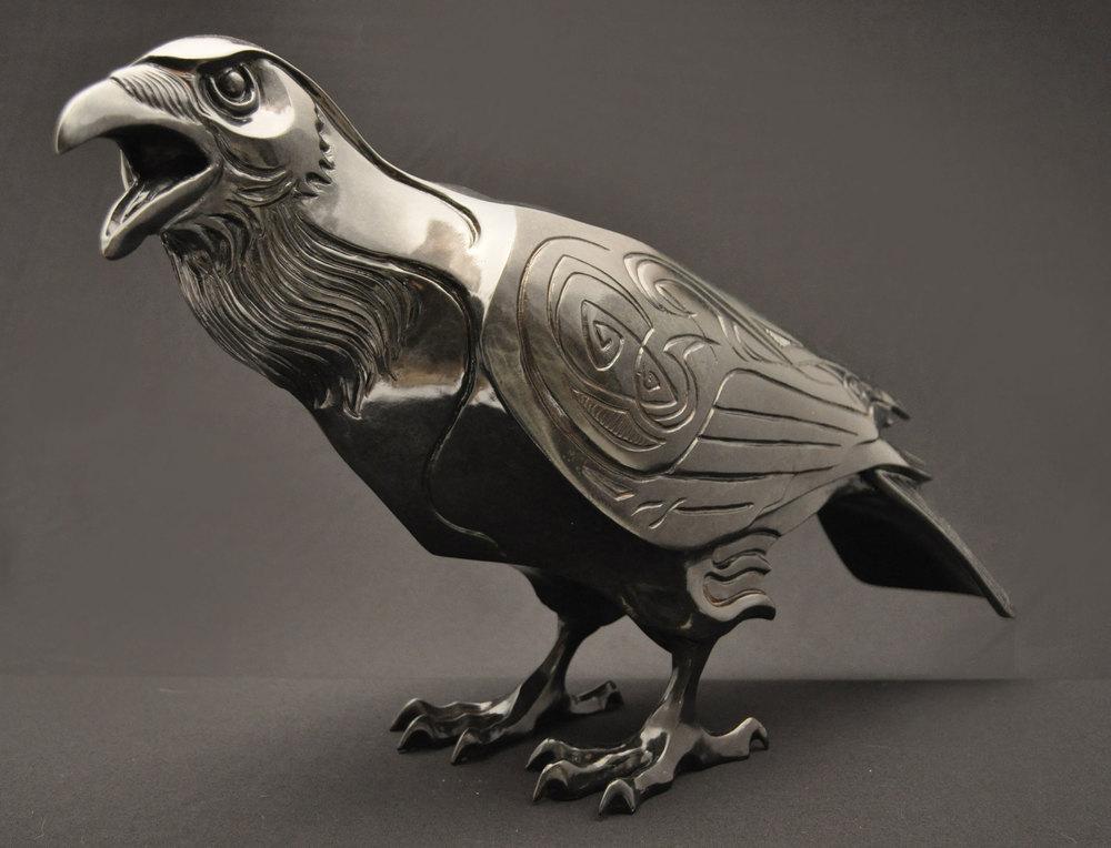 Raven-Sculpture-Bronze-John-Maisano---10.jpg