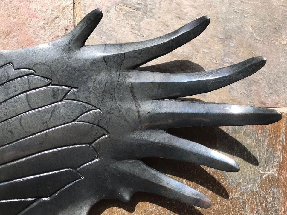 bronze raven ancient messenger john maisano