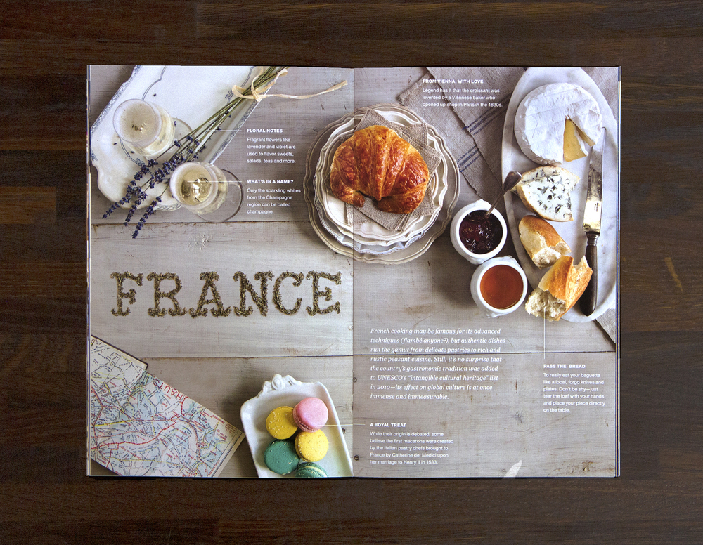 France tabletop spread (click to enlarge)