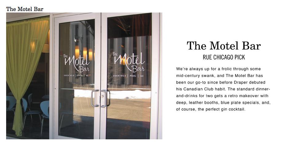 Motel Bar preview