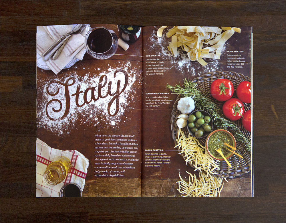 Italy tabletop spread (click to enlarge)