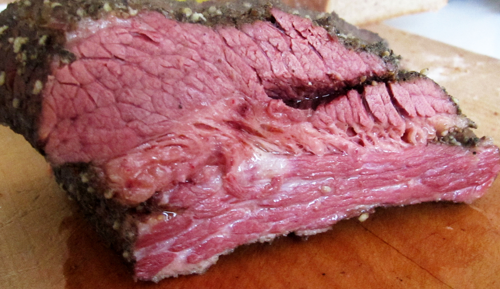 After smoking and sous vide