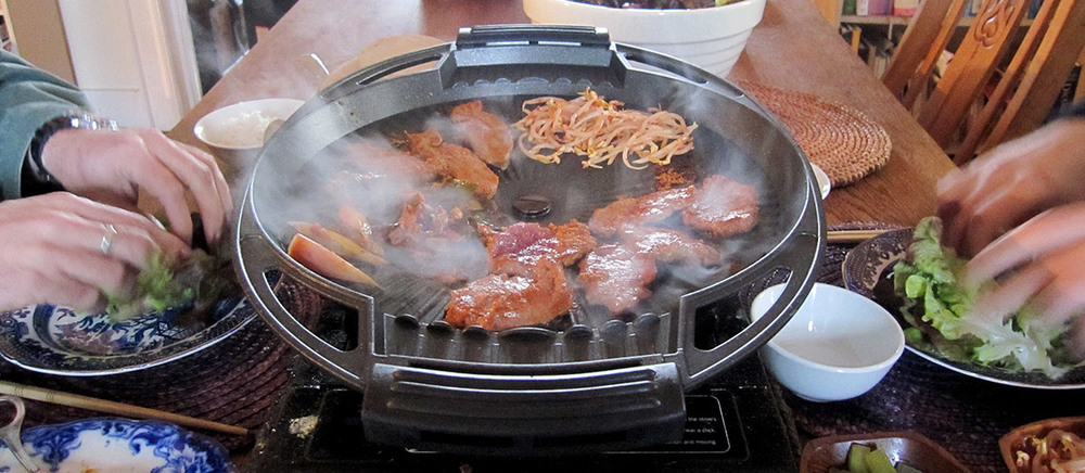 venison bulgogi feast