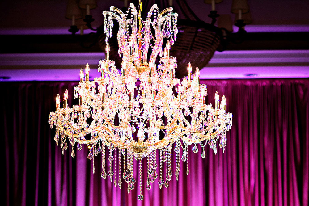 Gold Timeless Crystal Chandelier