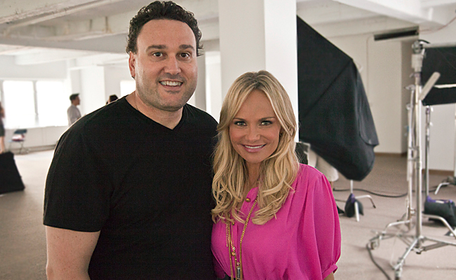 KRISTIN CHENOWETH - PSA  I'm currently in the middle of post production on a spot with Kristin Chenoweth for the Breast Cancer Research Foundation. It will be out next month. Will load it up here when it's done.
