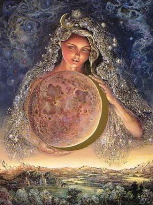 Divine Mother by Josephine Wall