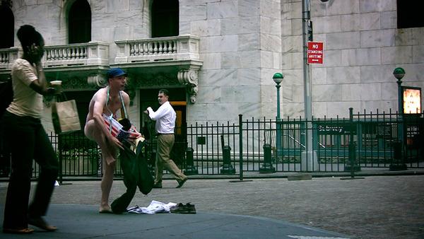Ocularpation Wall Street