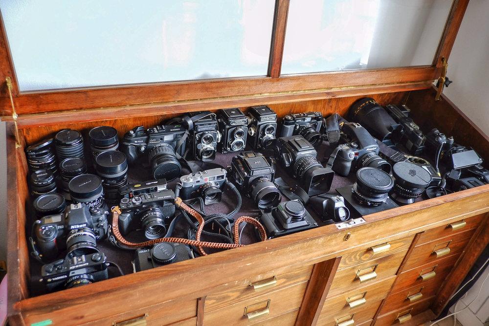 Ola's cameras