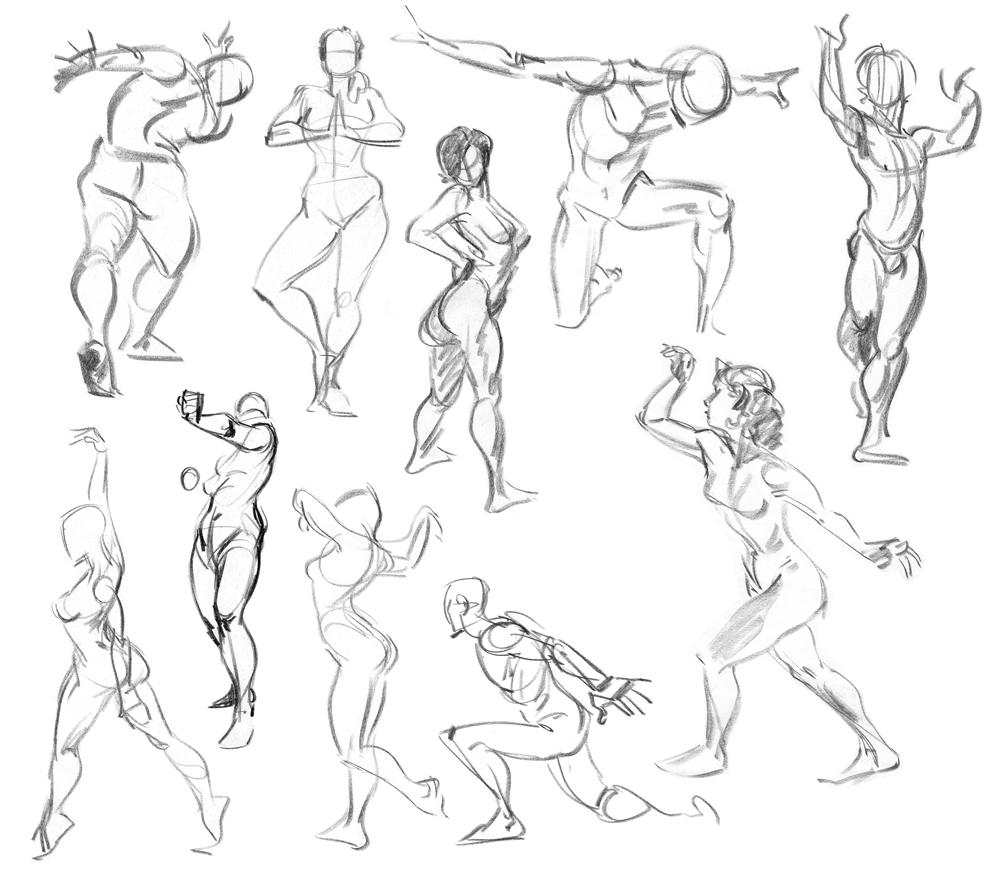 Nude Gestures