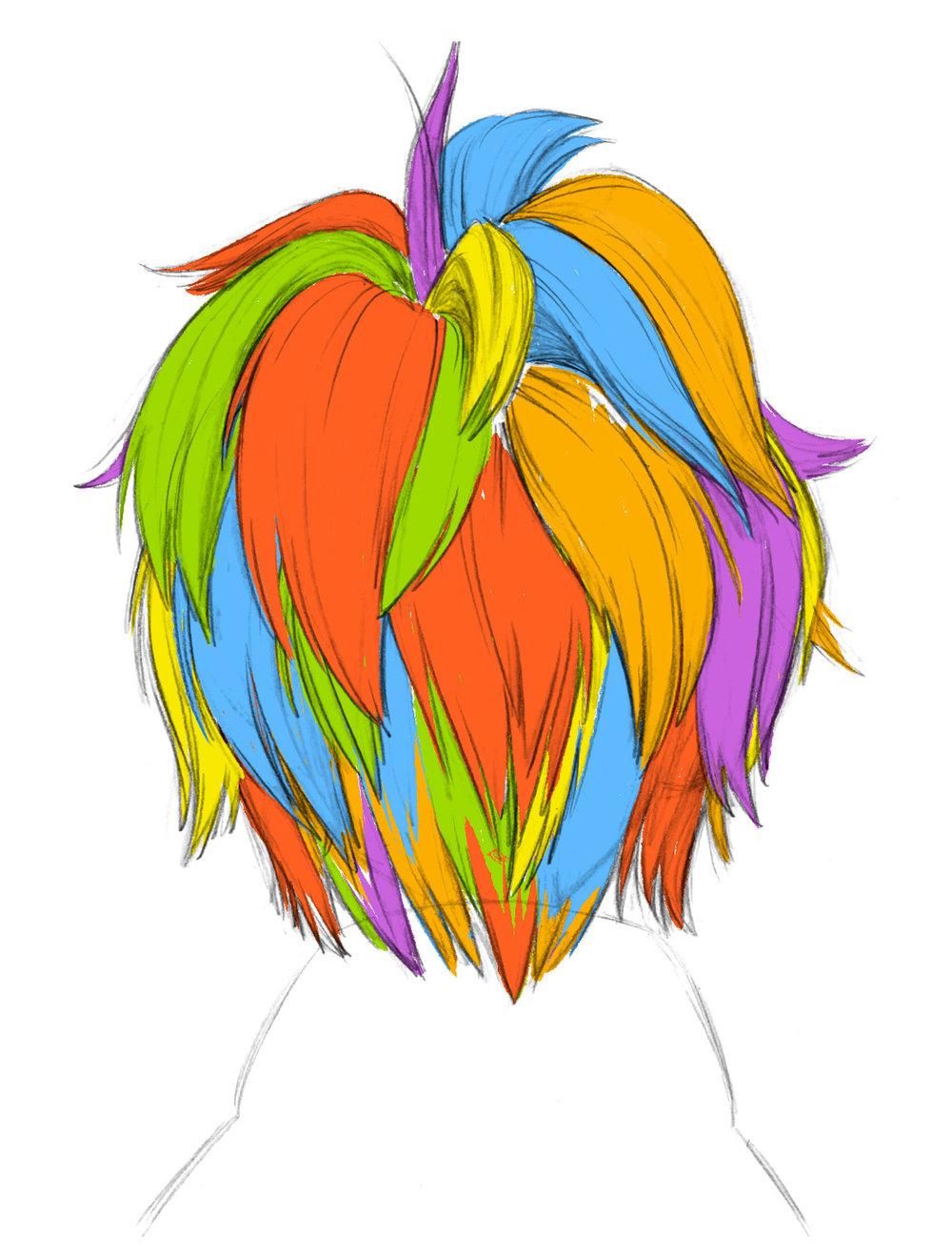 Hiro's Hair: Chunks