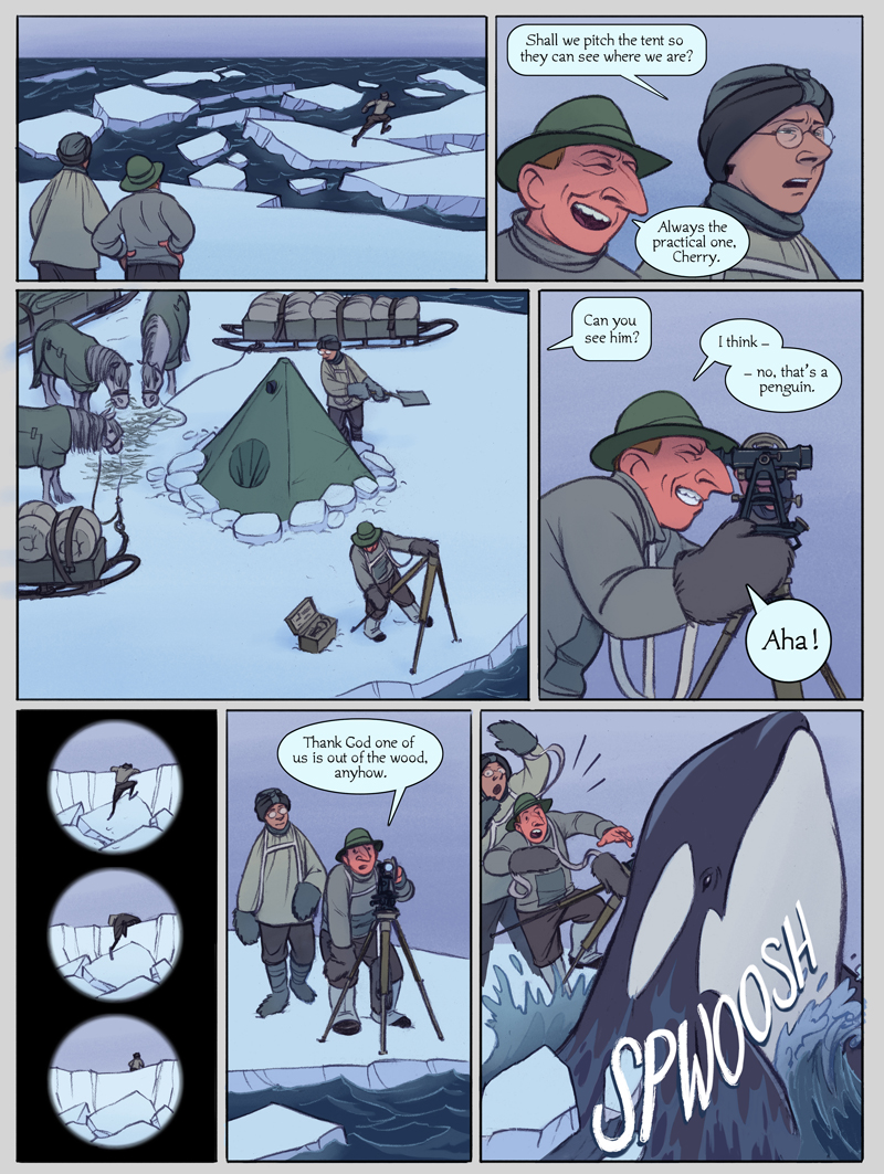 The Sea Ice Incident: Page 8
