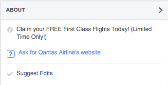 Seriously..... do you honestly think Qantas would get you to ask for their website???