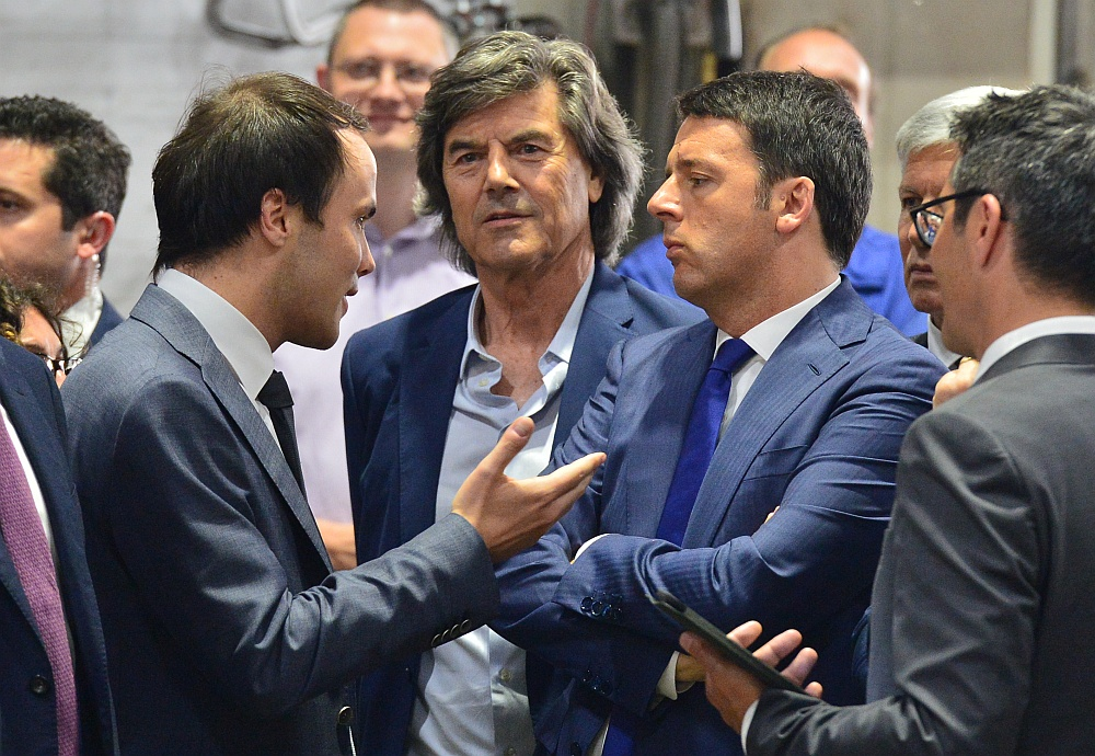 Interessiert und neugierig zeigte sich der Ministerpräsident bei meinen Ausführungen zum dualen Ausbildungssystem in Südtirol.