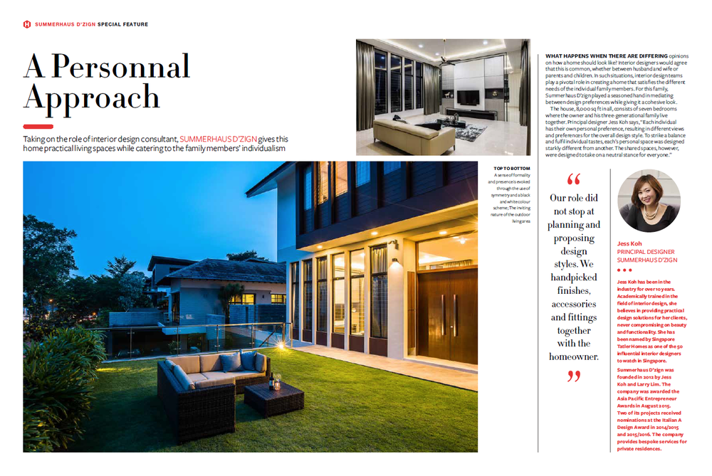 Singapore Tatler Homes Dec 2015
