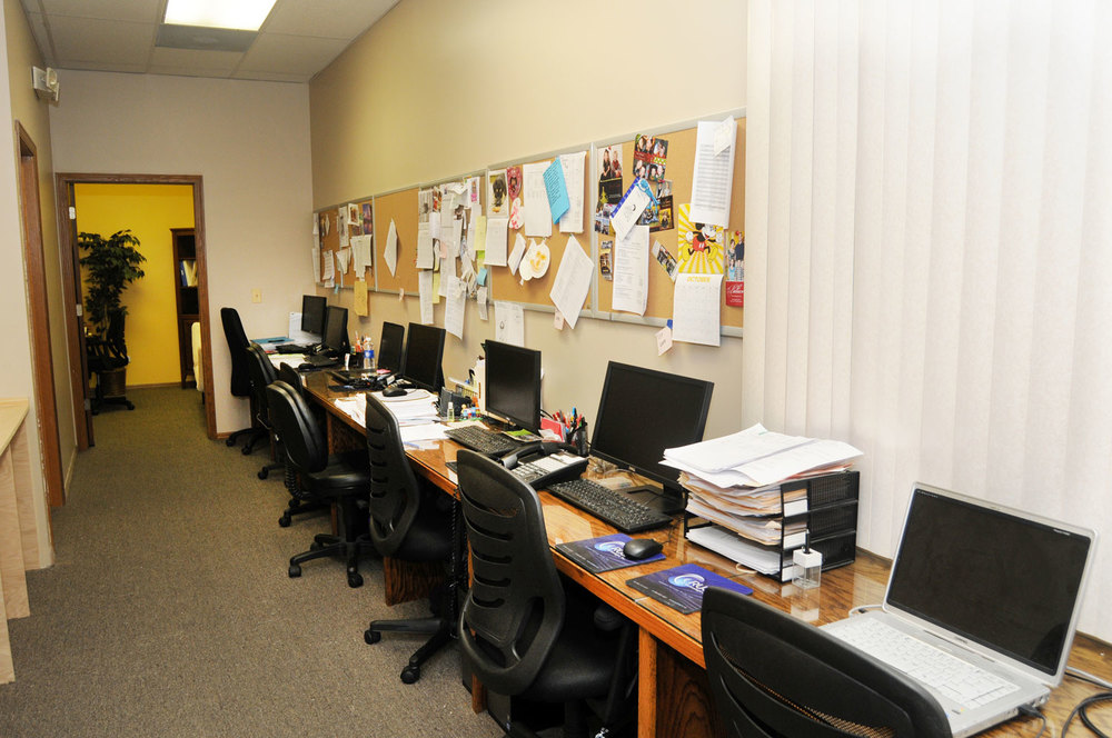 Expanded Therapist Office, conference room still under construction