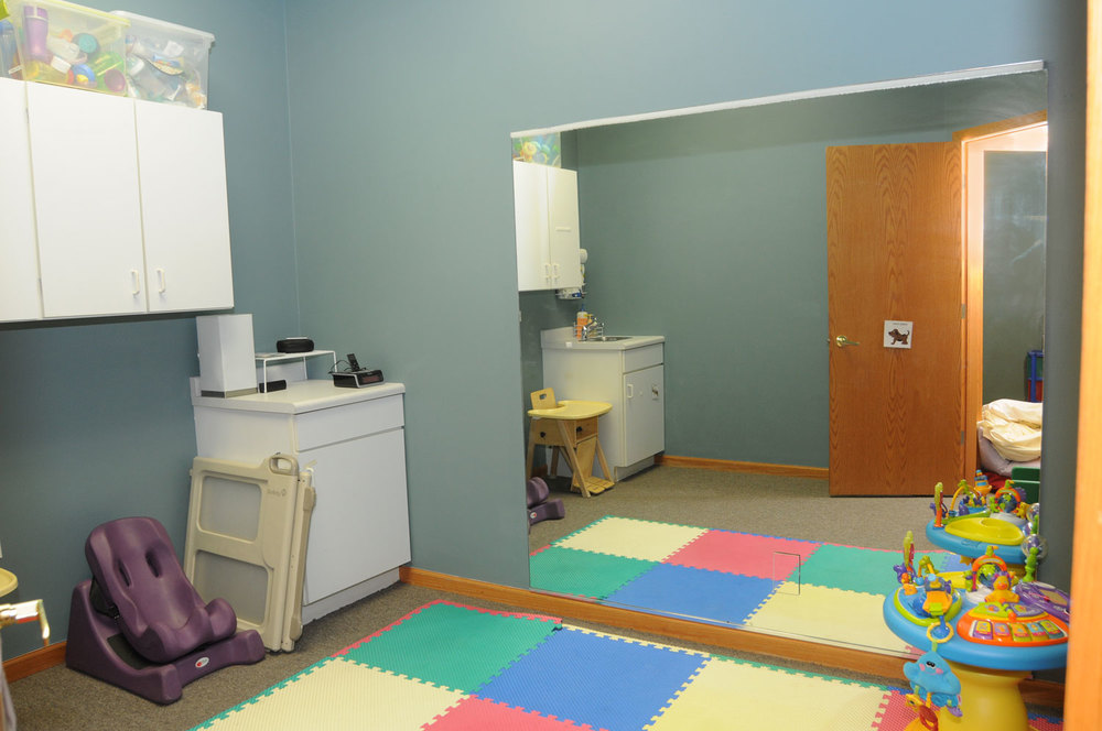 Puppy Room:  for infant exploration
