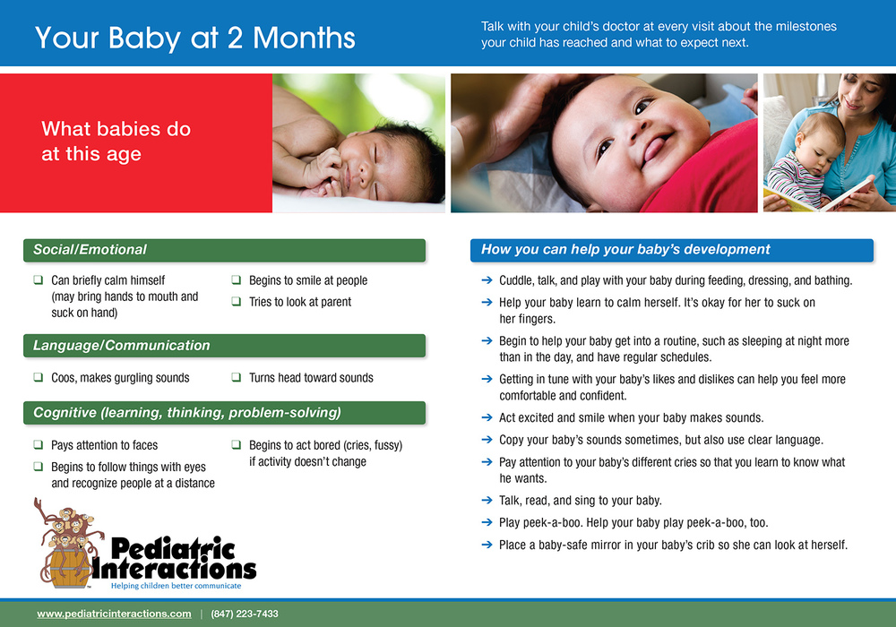 Download your copy of 2 Month Milestones