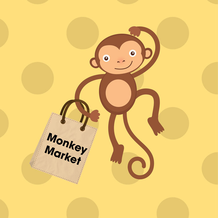 Monkey Market Vendor Fair