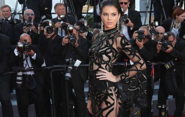 KENDALL JENNER  Gown: Roberto Cavalli | Jewels: Chopard