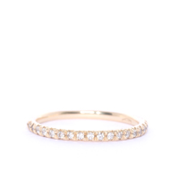 Diamond and Gold Eternity Ring