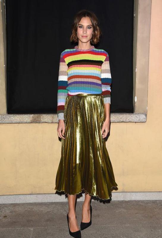 Alexa Chung in Gucci