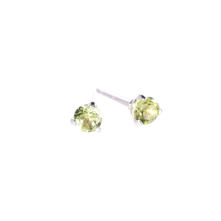 diamond cushion peridot earrings studs stud halo