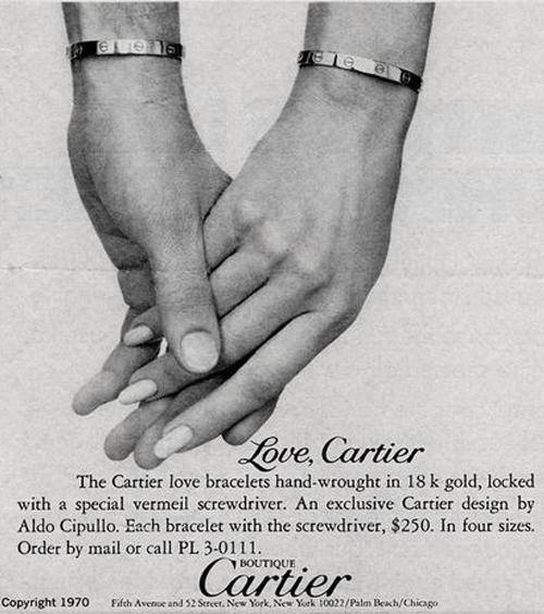 f7a78139168e5 THE STORY OF THE CARTIER LOVE BRACELET - XISSJEWELLERY