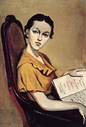 Portrait of Shelia Pickering by Balthus