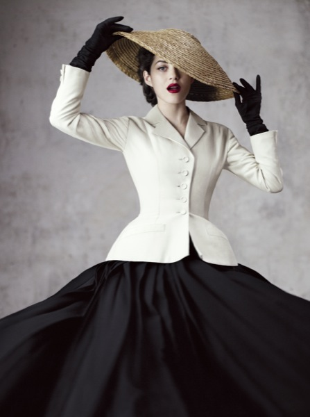 Dramatic...this beautiful photo by Jean Baptist Mondino could be a combination for power dressing if the skirt were less dramatic