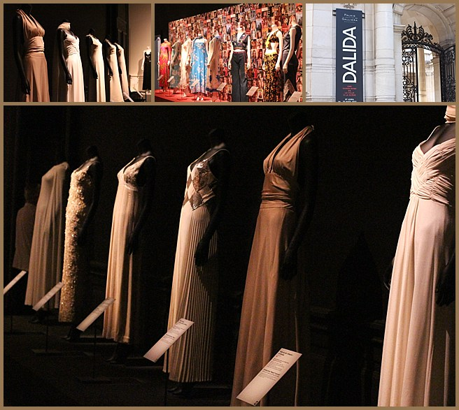 the dalida exhibition at palais galleria
