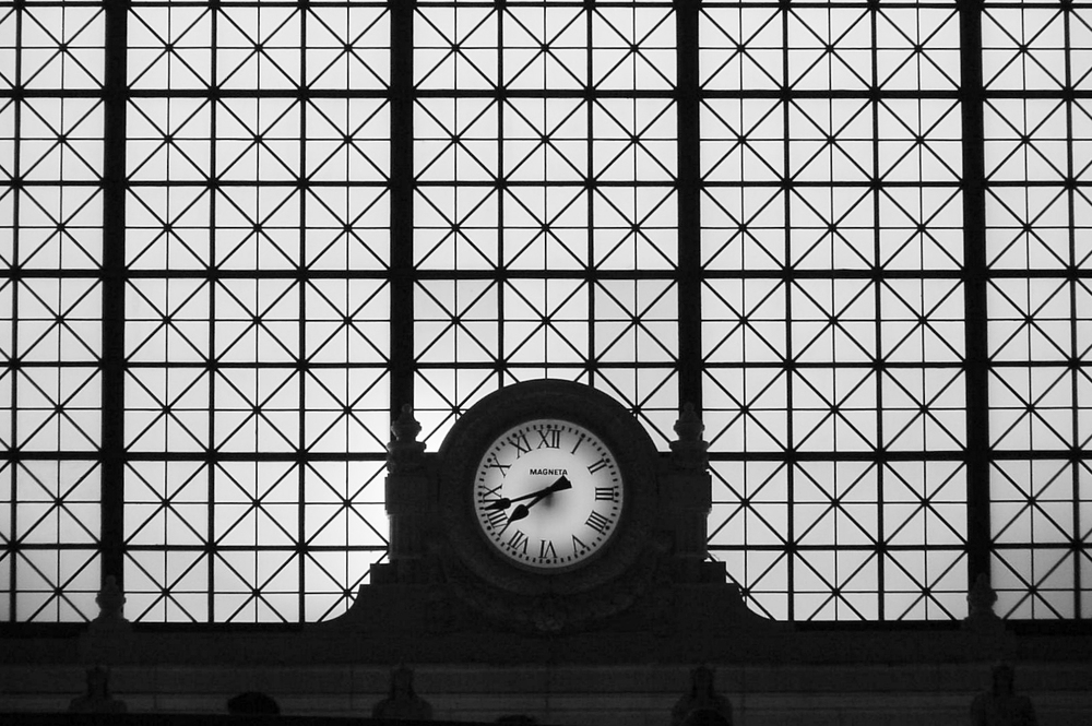 Clock at Union Station, Washington, DC Photo: Michael A. Wise