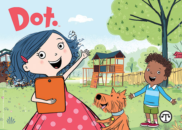 A new cartoon show can help kids enjoy learning how to handle digital media.