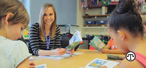 Grammy Award−winning singer-songwriter Sheryl Crow appreciates teachers.