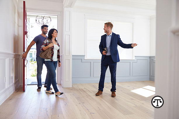 A professional real estate agent can open the door to the home of your dreams.