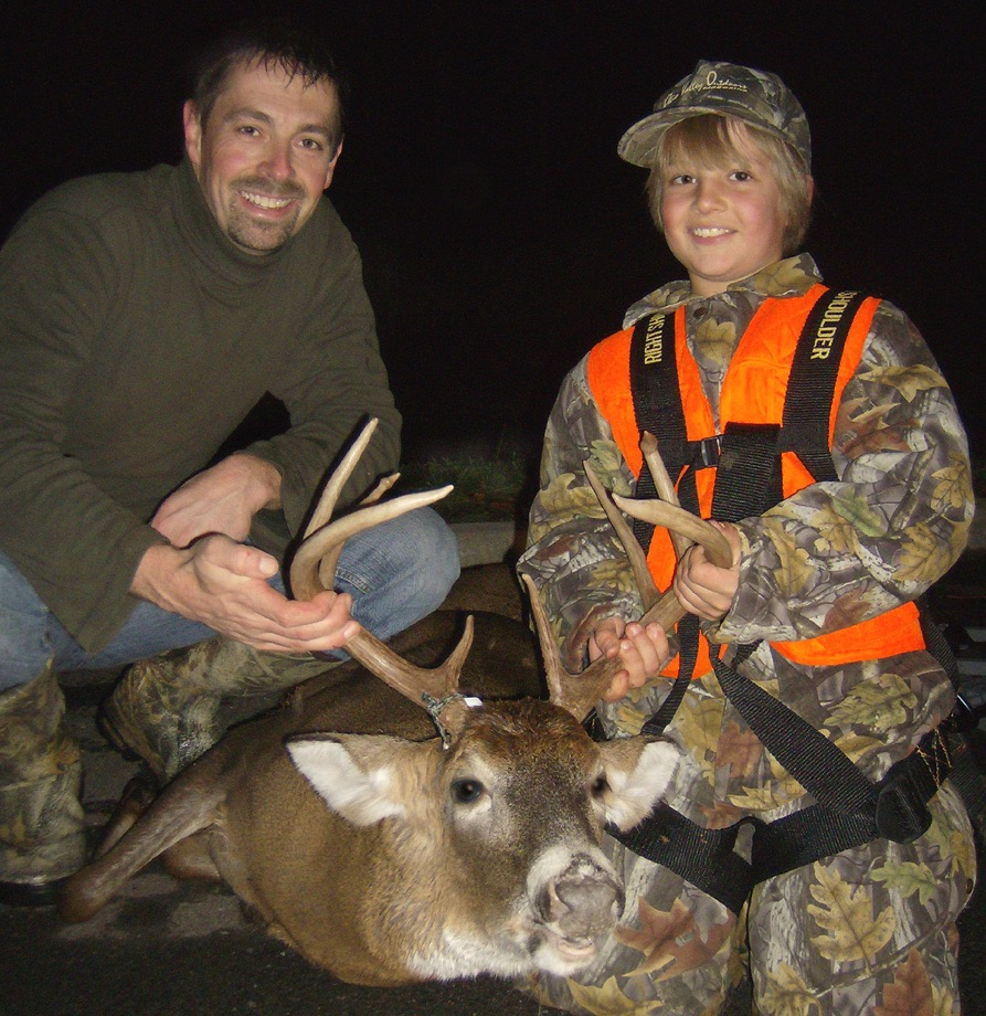 Our first successful mentored-hunting participant.