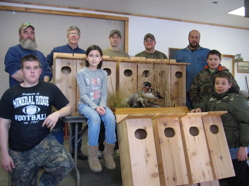 Our first conservation project.  Several of the wood duck nesting boxes are still being used in Mill Creek Park.