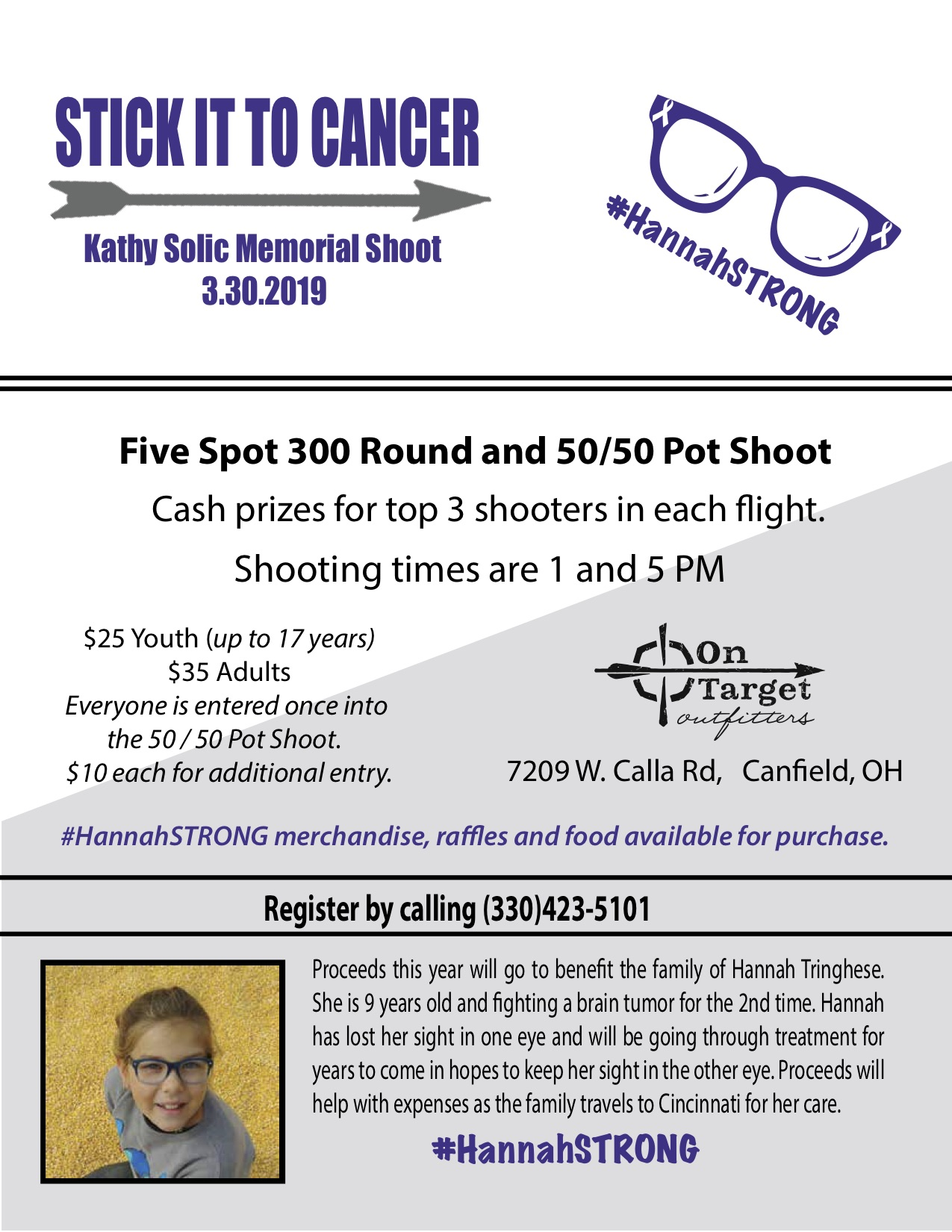 c8816bb1dd Stick It to Cancer Benefit Shoot — ON TARGET OUTFITTERS