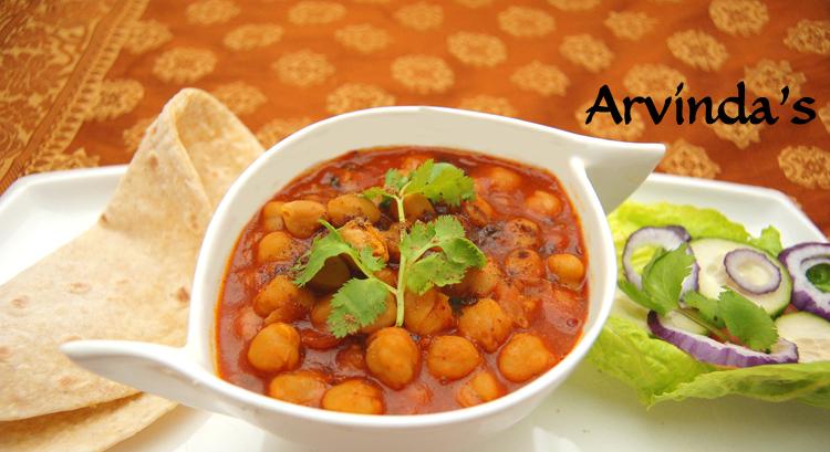 Arvinda's 10-Minute Channa Masala