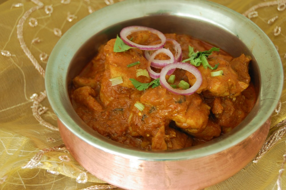 Chicken Curry made with Arvinda's Chicken Masala