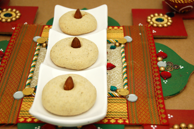 Indian-Style Chai Spiced Shortbread, Nan Katai