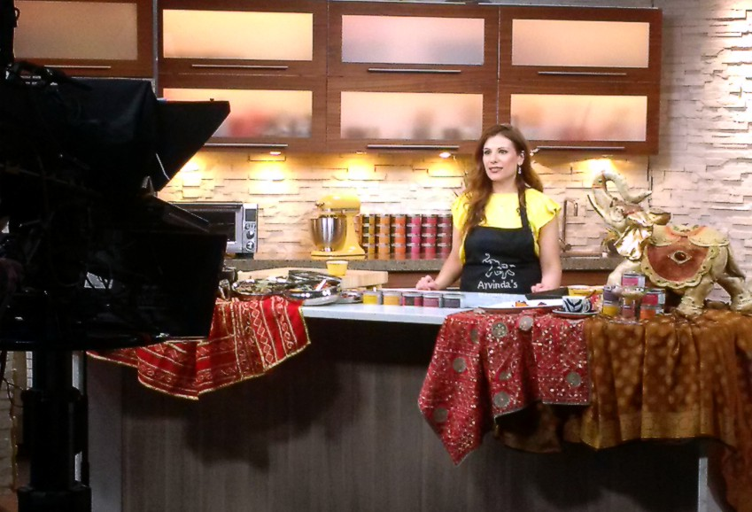 Arvinda's premium Indian spice blends are featured on Masala Magic Recipes on OMNI Television!