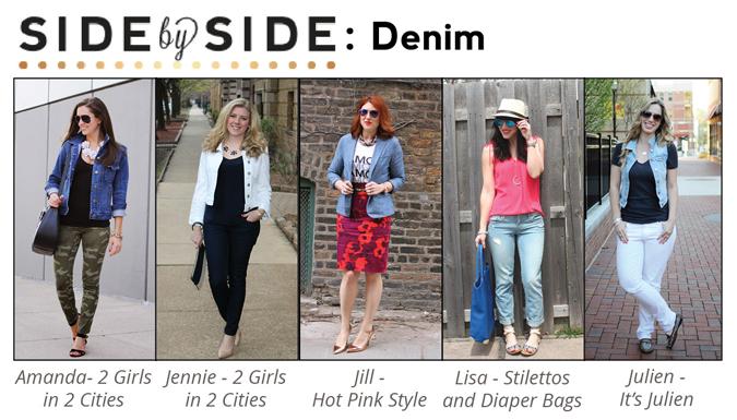 c96602fd4b Denim Vest and White Jeans — It s Julien
