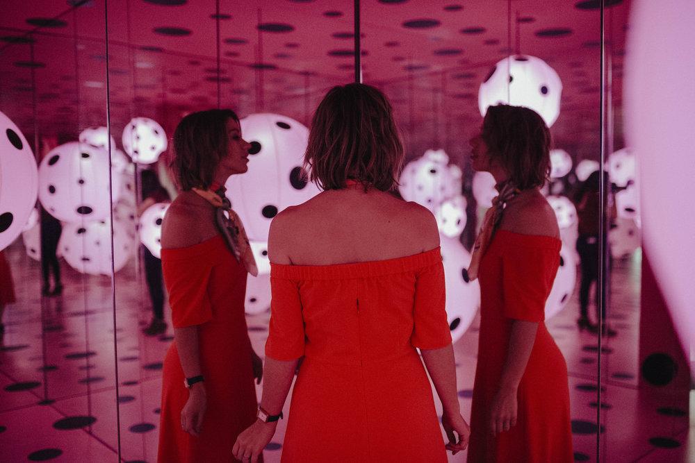 Yayoi Kusama Infinity Mirrors Exhibit