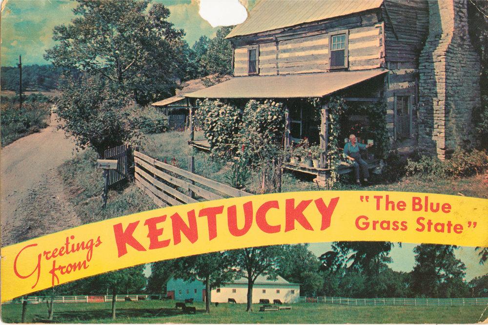 Postcard, Louisville, KY